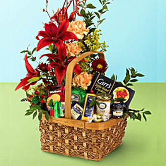 Esplendor romantic basket