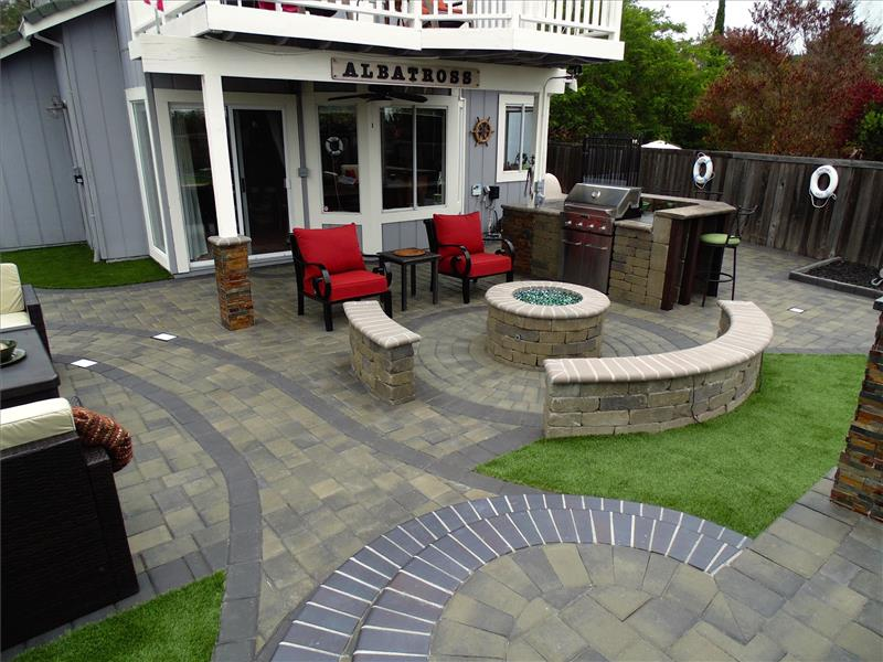 wine country pavers