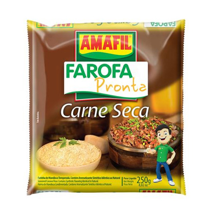 Farofa Ready Dry Meat 250g