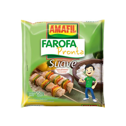 Farofa Ready Suave Without Pepper 250g
