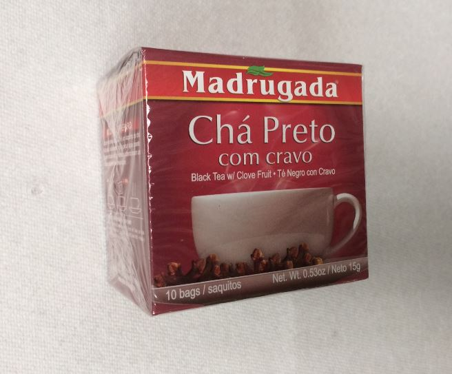 Black Tea With Clove Fruit - The Box Contains 10 Bags