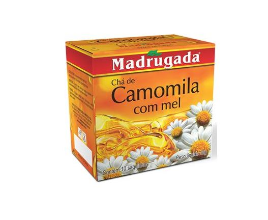 Chamomile Tea With Honey - Contains 10 Tea Bags